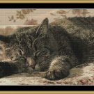ASLEEP! Cross Stitch Pattern [PDF by email] {cat}