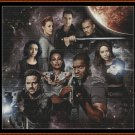 DARK MATTER Cross Stitch Pattern [PDF by email] {TV SCIFI}