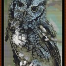 EASTERN SCREECH OWL Cross Stitch Pattern [PDF by email]
