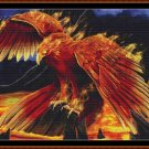 PHOENIX PERCH Cross Stitch Pattern [PDF by email] {fire bird}