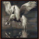 PEGASUS Cross Stitch Pattern [PDF by email] {winged horse}
