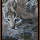 FIERCE BABIES - BOBCAT Cross Stitch Pattern [PDF by email] (feline cat feline)