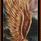 GOLDEN ANGEL Cross Stitch Pattern [PDF by email]