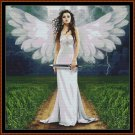 WHITE FAIRY Cross Stitch Pattern [PDF by email]