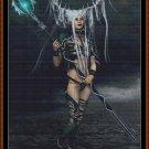WARRIOR WAITING Cross Stitch Pattern [PDF by email] (fantasy lady)