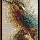 SPIRIT KINGFISHER Cross Stitch Pattern [PDF by email] (bird)
