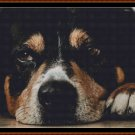 SLEEPY PUP 6 Cross Stitch Pattern [PDF by email] (canine dog)