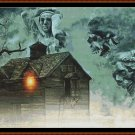 HAUNTING Cross Stitch Pattern [PDF by email] (fantasy)