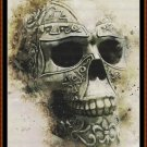 SPIRIT SKULL Cross Stitch Pattern [PDF by email] {gothic celtic}