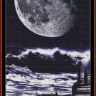 TIDAL MOON Cross Stitch Pattern [PDF by email]