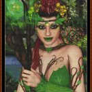 ELVEN QUEEN Cross Stitch Pattern [PDF by email] {fantasy elf}
