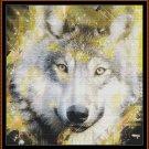 SPIRIT WOLF Cross Stitch Pattern [PDF by email]
