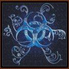 BLUE SIGIL Cross Stitch Pattern [PDF by email] {fantasy}