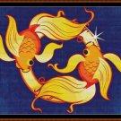 ZODIAC - PISCES Cross Stitch Pattern [PDF by email] (astrology)