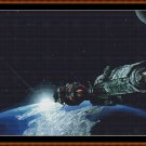 ASTEROID MINING Cross Stitch Pattern [PDF by email]