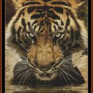 DRINKING Cross Stitch Pattern [PDF by email] {tiger}