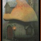 FOREST COTTAGE Cross Stitch Pattern [PDF by email] {fantasy}