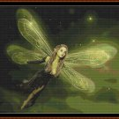 LITTLE GREEN Cross Stitch Pattern [PDF by email] {fairy}