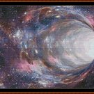 WORMHOLE Cross Stitch Pattern [PDF by email] (space universe galaxy)