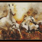 HORSES Cross Stitch Pattern [PDF by email]