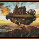 FLYING HOME Cross Stitch Pattern [PDF by email] (fantasy ship)