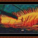 UNCAMOFLAGED Cross Stitch Pattern [PDF by email] {iguana}
