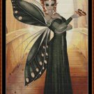 ORANGE FLOW Cross Stitch Pattern [PDF by email] (fairy)