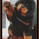 GIMME FIVE Cross Stitch Pattern [PDF by email] {dog puppy}