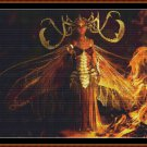 FIRE FAIRY Cross Stitch Pattern [PDF by email] {gothic}