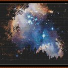 STARRY NIGHT Cross Stitch Pattern [PDF by email]