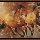 GALLOPING Cross Stitch Pattern [PDF by email] {horse}