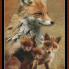 SPIRIT GUIDES - FOX Cross Stitch Pattern [PDF by email]