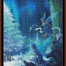 MAGICAL FOREST CHRISTMAS 2 ~ Cross Stitch Pattern [PDF file] (fairy)