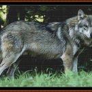 WOLF PORTRAIT Patron de punto de cruz [archivo PDF] (lobo)