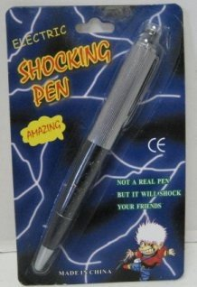 Electric Shocking Pen ( and it really writes)