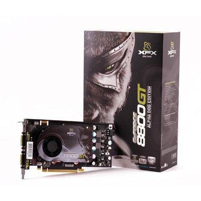 XFX NVIDIA GeForce 8800GT 8800 GT 256MB GDDR3 SLI Video Card w/ Free Game