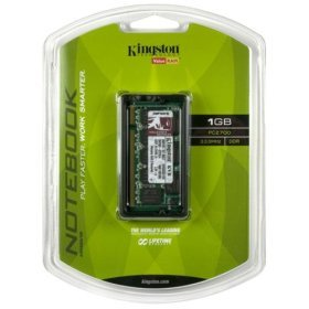 Kingston 1GB DDR 333 PC-2700 200-pin SODIMM Notebook / Laptop Memory