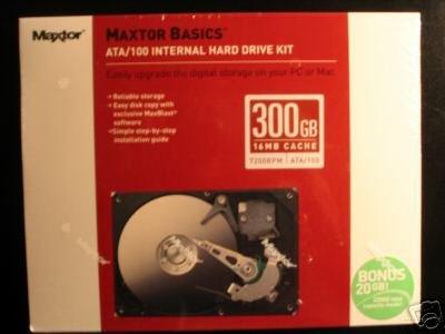 Maxtor 320GB PATA / IDE / ATA Internal Hard Drive
