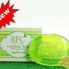 New!! BFC FACIAL  SOAP WITH GREEN TEA VITAMIN C,E REDUCE ACNE&BLACKHEAD ACNE