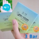 3 pcs.Ho Yeon Facial Herbal Blue Soap Detox face skin Reduce Acne and Deep clean