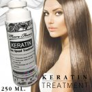 KERATIN HAIR TREATMENT ONE SPEED  REVITALIZES DAMAGE HAIR BECOME SMOOTH 250 ML.