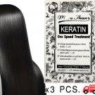 3 PCS. X MORE THAN KERATIN HAIR TREATMENT REPAIR DAMAGE HAIR /TRAVEL SIZE 30 ML.