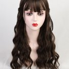 Neat Bang Gradient Curly Synthetic Wigs