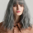 Neat Bang Slightly Wave Short Synthetic Wigs For Women
