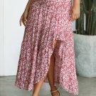 Red Traveller Skirt