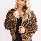 Cozy Plush Leopard Jacket