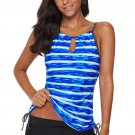 Blue Print Tankini Swimwear