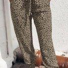 Khaki Breezy Leopard Joggers