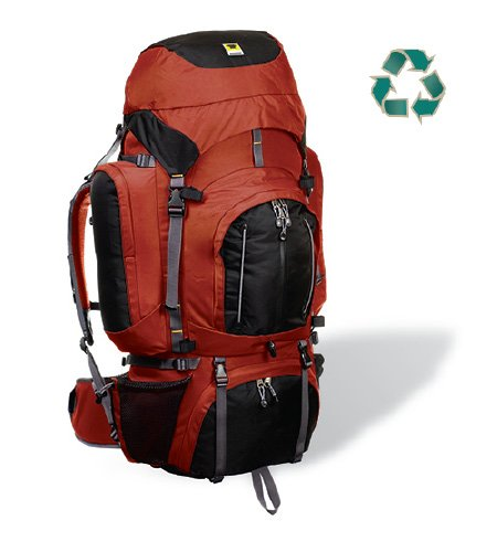 Mountainsmith Circuit 3.0 Aztec Red Recycled Internal Frame Backpack - FREE SHIPPING!