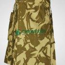 British Military Camo - Kilt for Men - Cheap Kilt